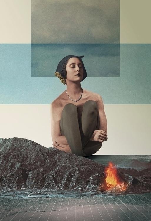 Dreams Burn (2017 - collage, digital - julienp | ello