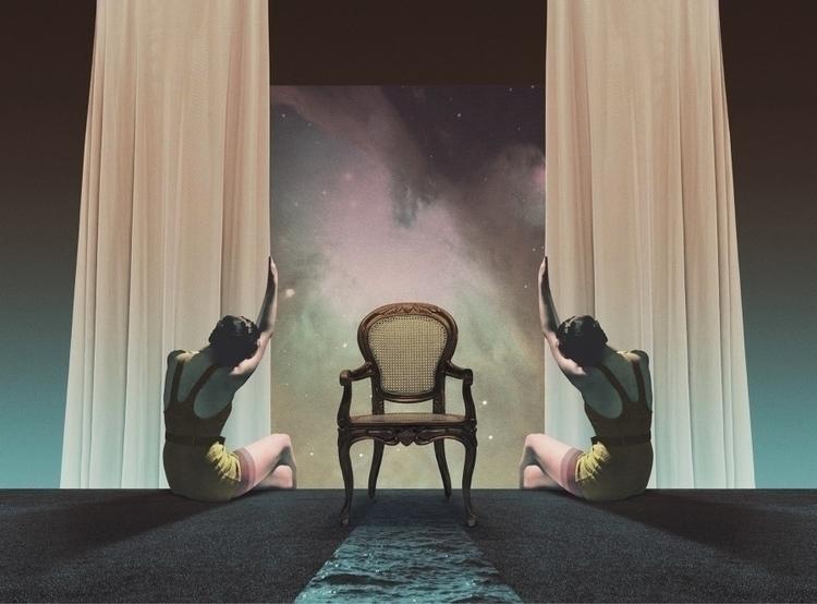 Chair (2017 - collage, digital, surreal - julienp | ello