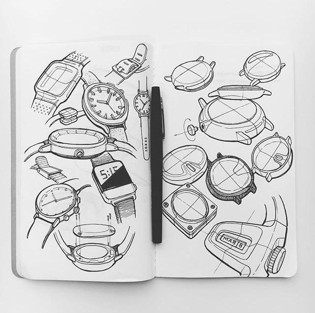 Sketches designer Sam Carr - sketchbook - letsdesigndaily | ello