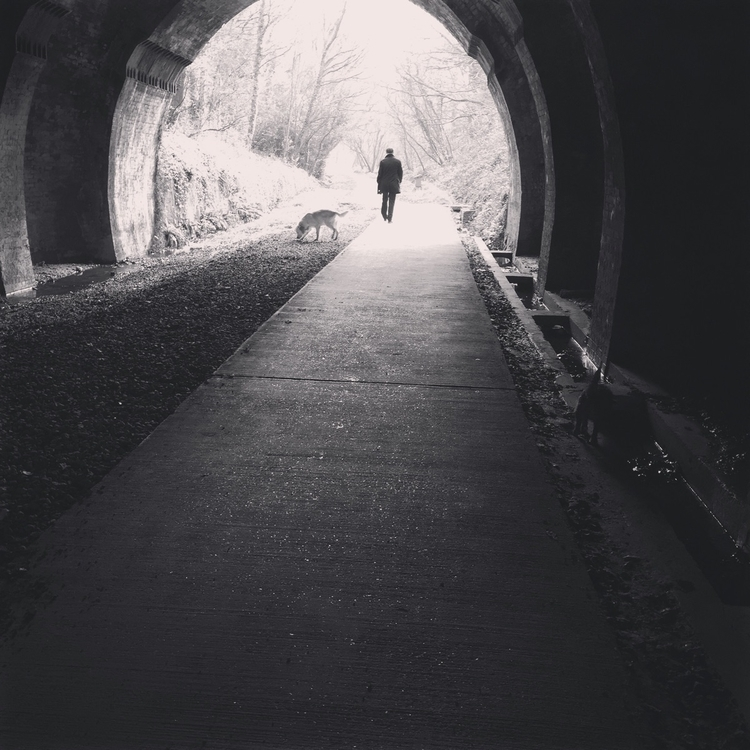 Light tunnel - icerolyuk | ello