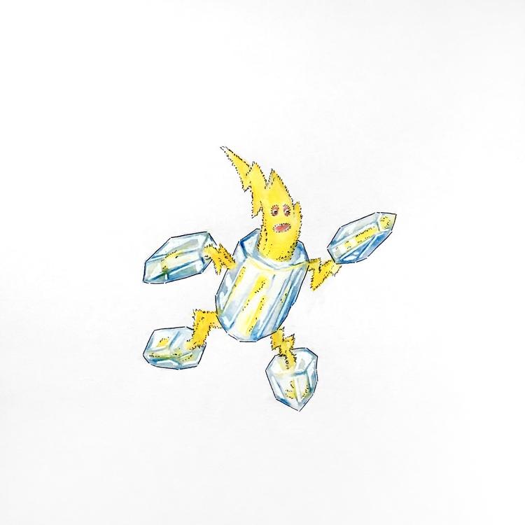 Crystal Sprite, 1 4 Electro Age - leebert   ello