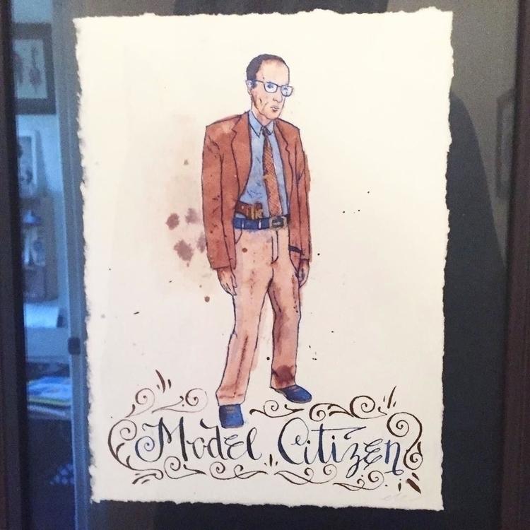 William Burroughs - artist - talltreesofportland - helliongallery | ello