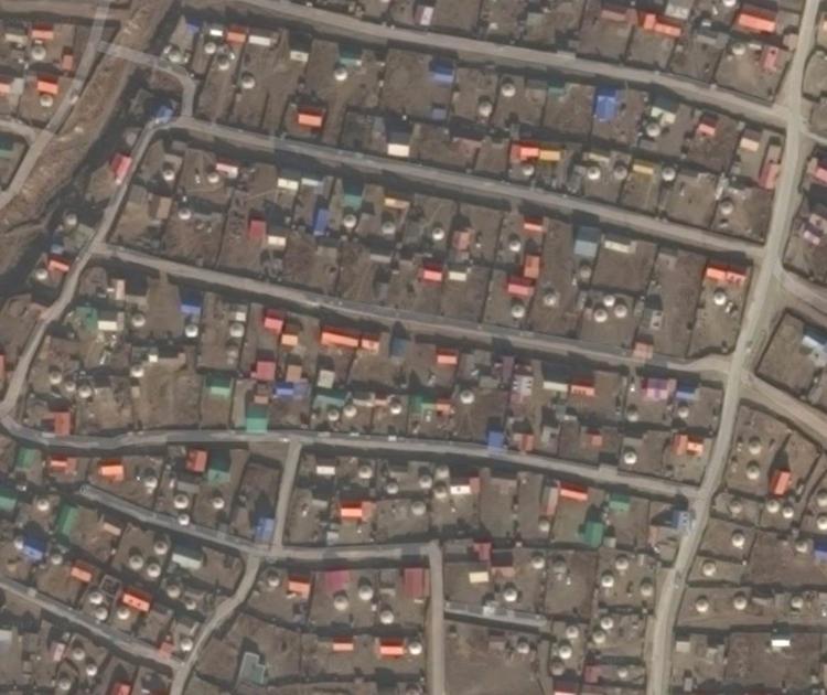 Ulaanbaatar, Mongolia. Urban ne - livingstongeospatial | ello