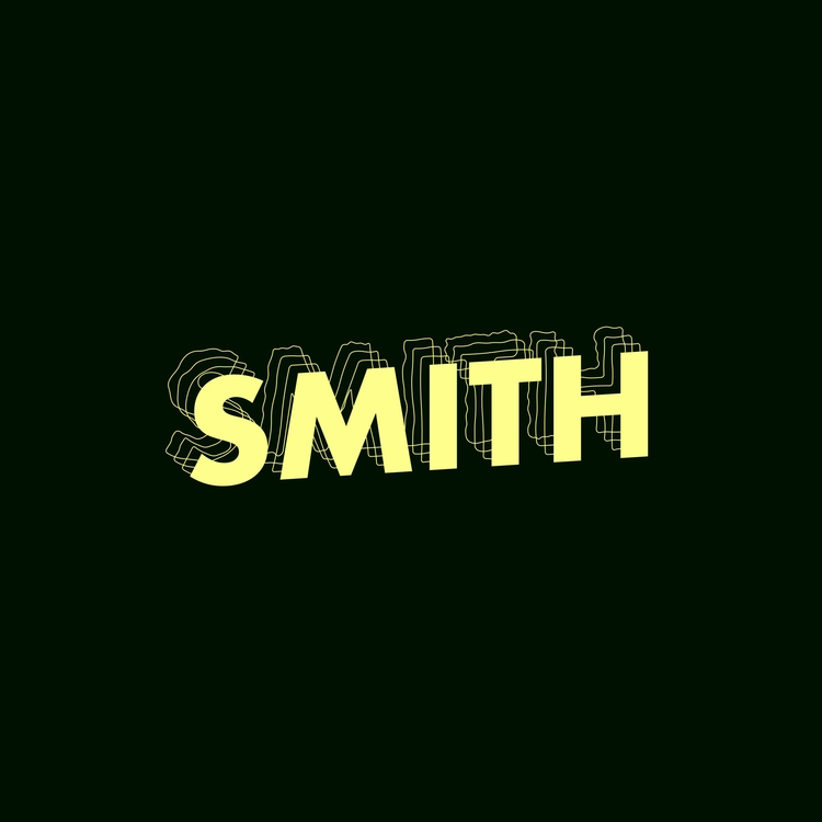 wiggle HD - illustration, typography - smith   ello