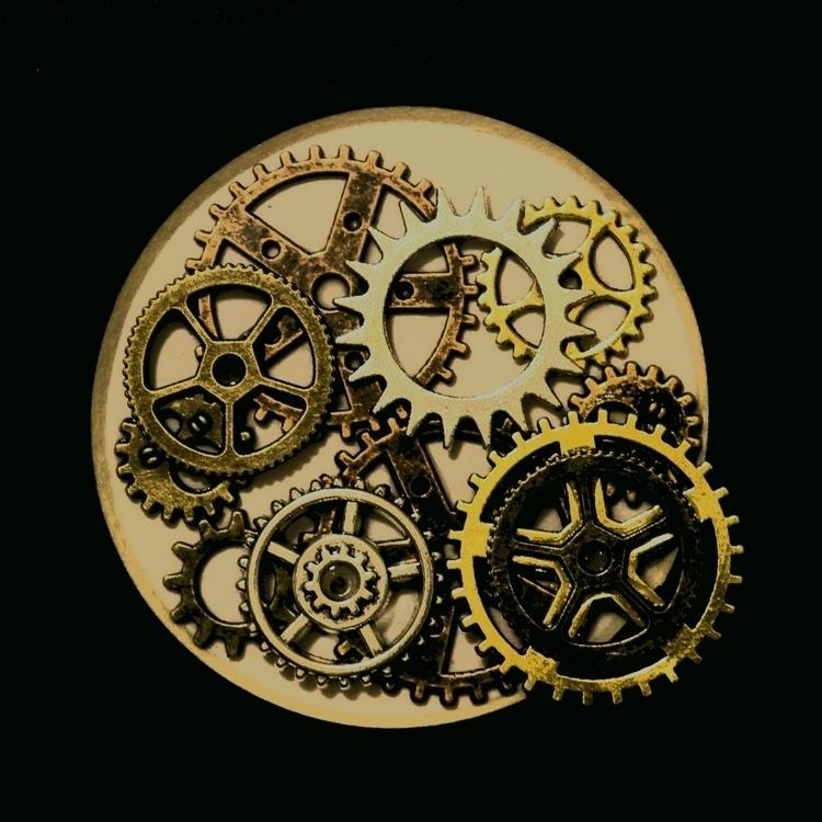 gears, abstract - mortezah | ello