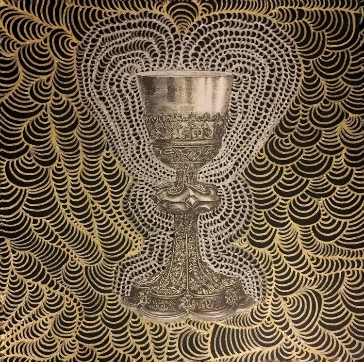 Cup Overflow (#linework metalli - arcanememory | ello
