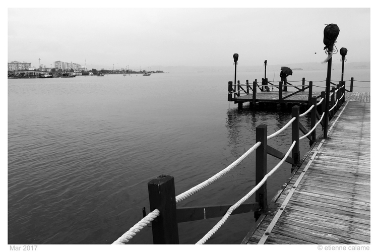 rainy day March, point view pas - etiennecalame | ello