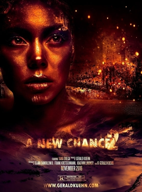 Chance II Sci-Fi Movie Poster  - gerald_kuehn   ello