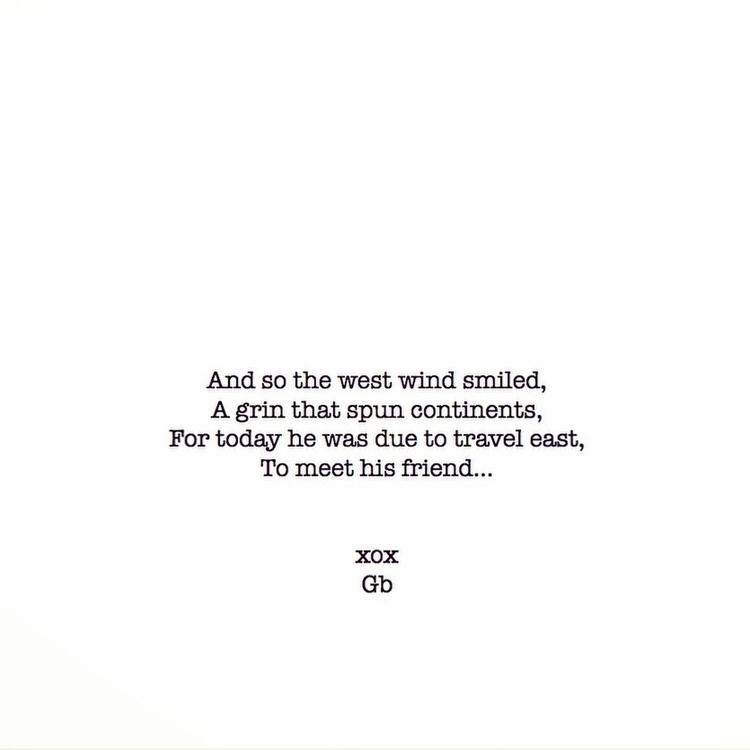 imagine wind smiles travels - poem - goldenbirdiewrites | ello