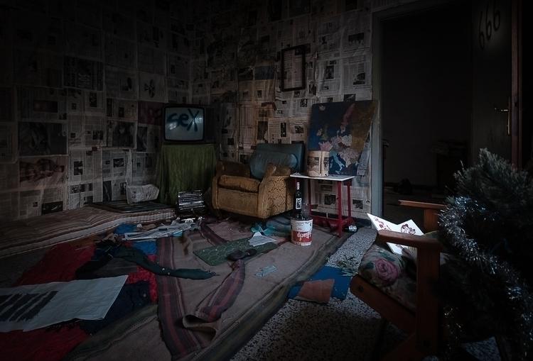 """Room 666"" — Photographer: Fede - darkbeautymag | ello"
