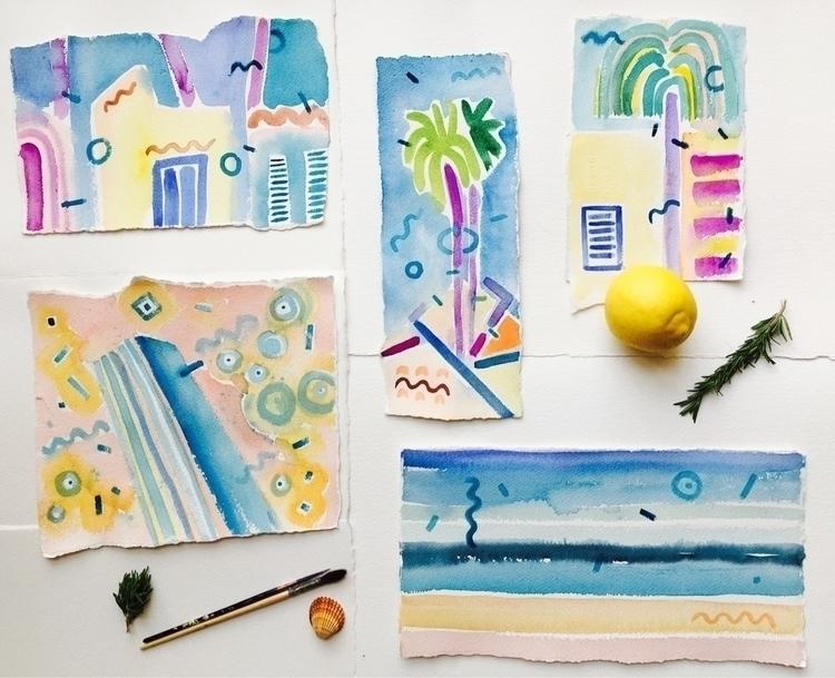 Sunny Cyprus - art, sketch, sketching - yd_studio | ello