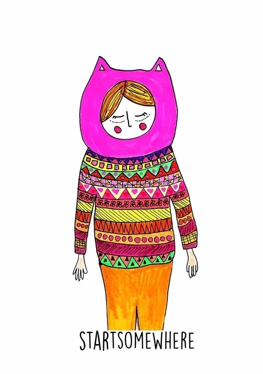 rabbit reasons - illustration, drawings - eve-pajaros | ello