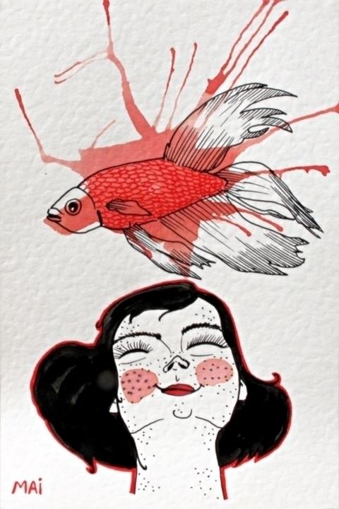 Part series....Japanese inspira - mailustra   ello