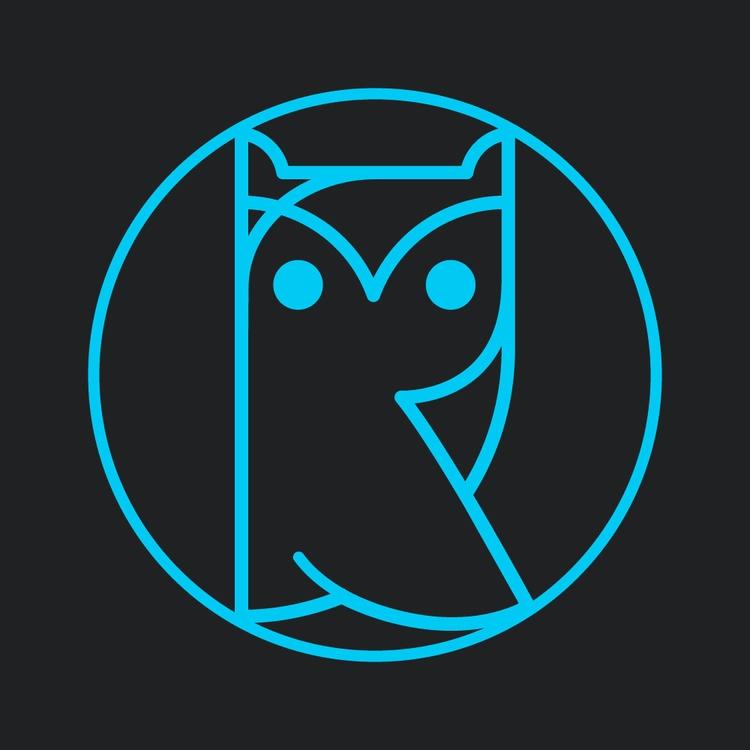 letters, isolated, owl, athene - rodionovsyankin | ello