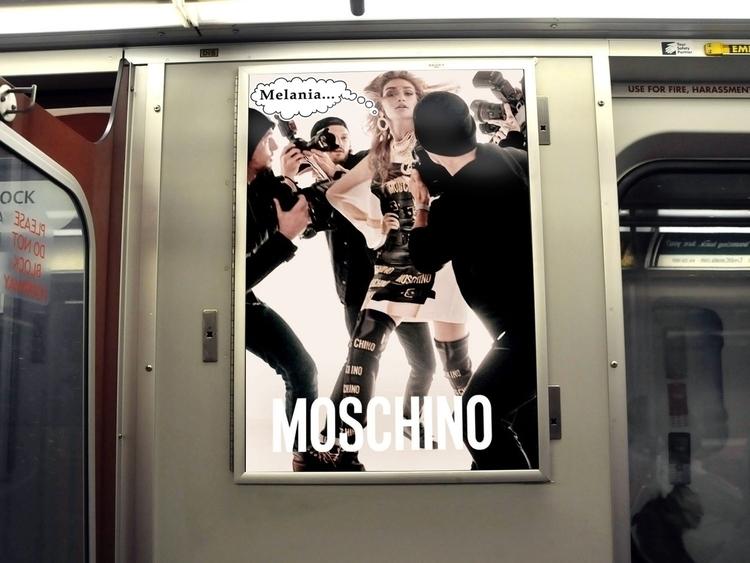 Melania Series Ad Hack Die cut  - 3enjamin | ello