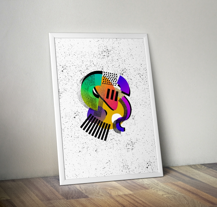 Poster print. 7 signed numbered - jmelloni | ello