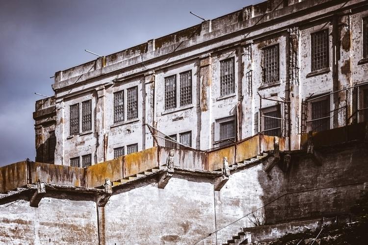 Crumbling Prison main cell bloc - mattgharvey | ello