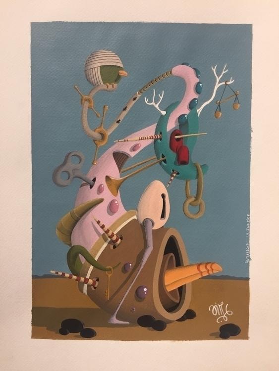 art, acrylic, surrealism, painting - jimmy-p | ello
