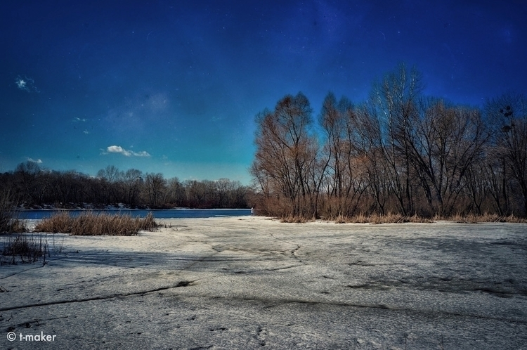Ice Retreated | Flickr - river, riverfront - t-maker | ello