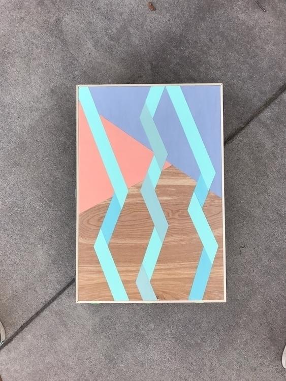 acryliconpanel, painting - matt_shurtleff   ello