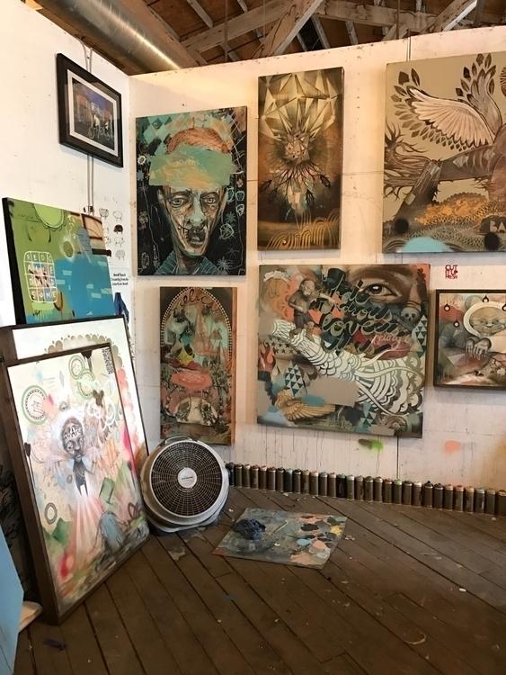 Studio visit John Tindel Atlant - mayah | ello