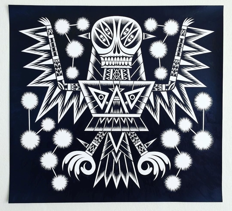 Gold Crow - artist - talltreesofportland - helliongallery | ello