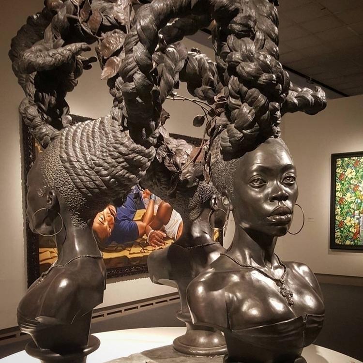 BOUND Kehinde Wiley 2014, Bronz - loupratt | ello