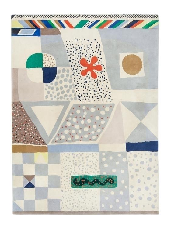 Josef Frank, hand-tuffed carpet - modernism_is_crap | ello