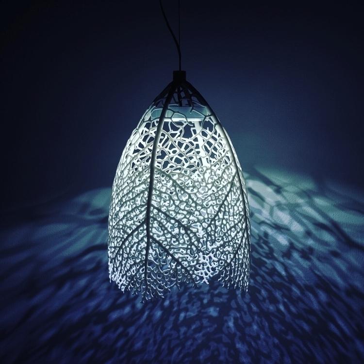 Hyphae Pendant Lamp NERVOUS SYS - letsdesigndaily | ello