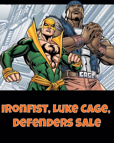 Power Man, Cage, Man Iron Fist - comicburst | ello