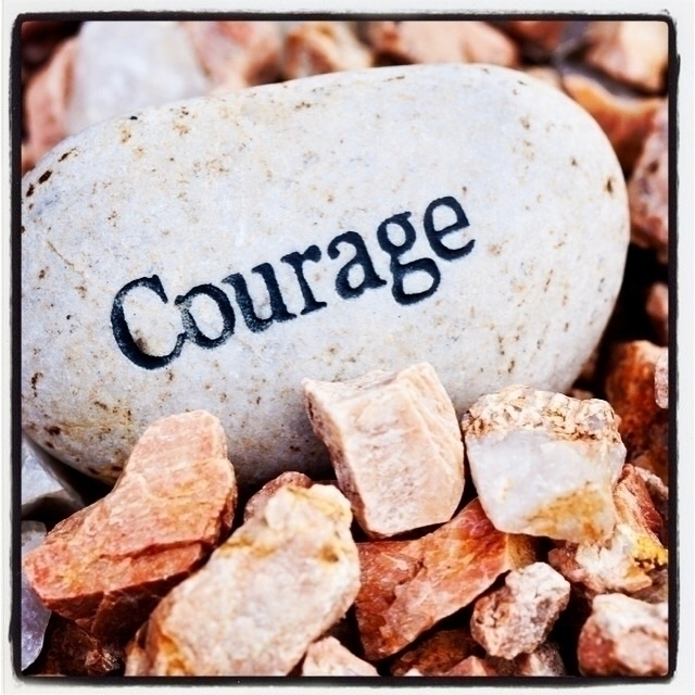 Courage takes stand speak. sit  - esquirephotography | ello