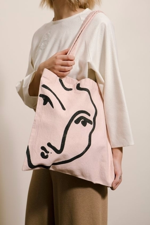 Matisse Tote Bag. - Shop: Desig - ohgoodgoods_mag | ello