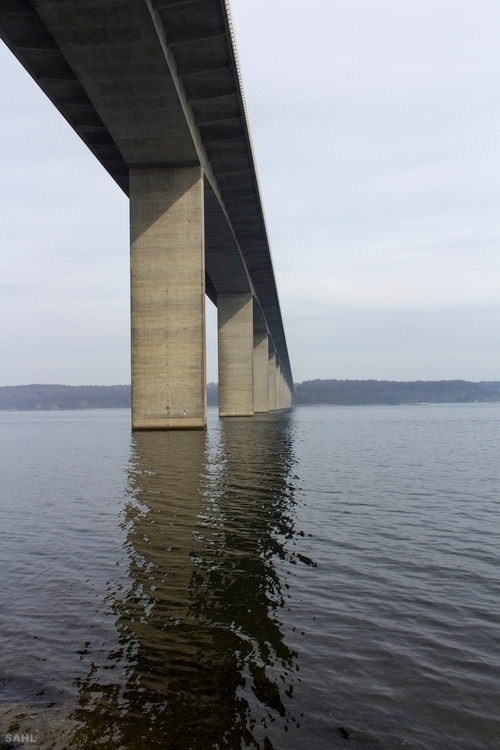 31 2017 - Bridge, water, Marts, Denmark - jan_sahl | ello