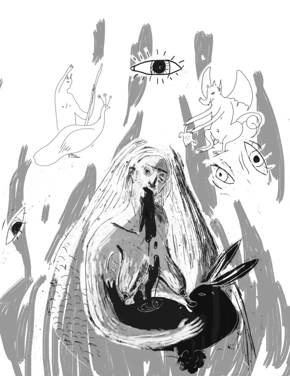 Witch Sara Arosio current issue - laharmagazine | ello