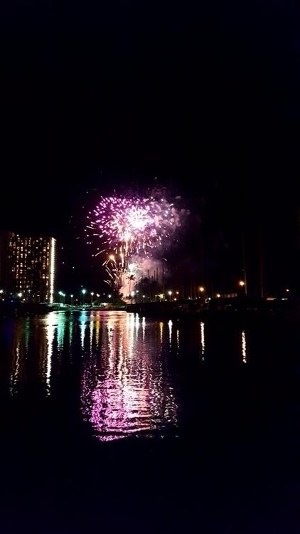 Waikiki Fireworks - lanadesu | ello