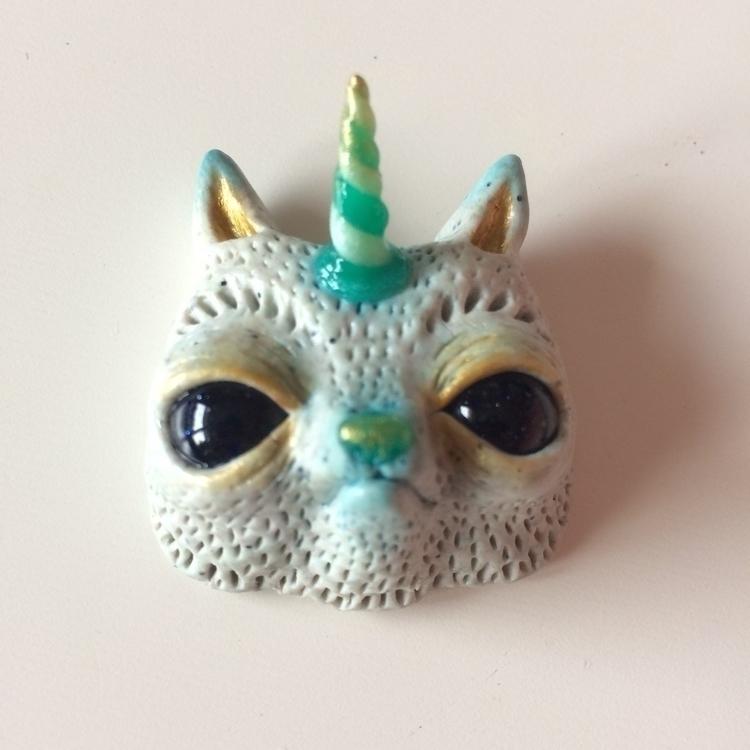 Handmade pendent/Fimo clay 45€  - skeenep | ello