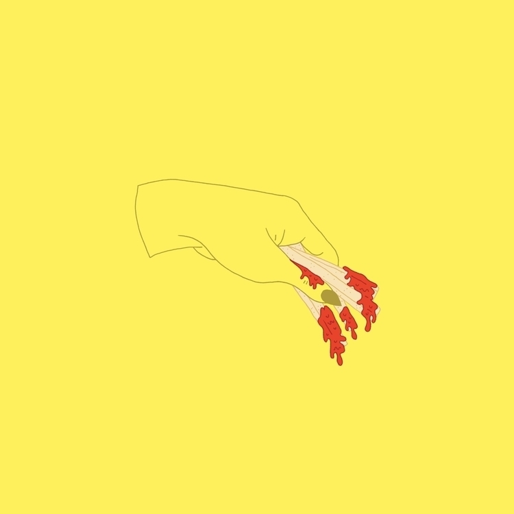 IG - fries, junkfood, illustration - margoshmargo | ello
