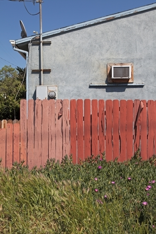 Red Fence, Figueroa St, Highlan - odouglas   ello