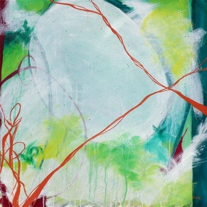 April 24x24 Oil Canvas piece to - cogwurx | ello