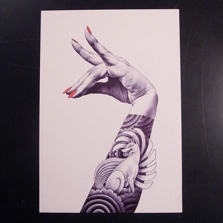 Kitsune - artist - talltreesoftokyo - helliongallery | ello
