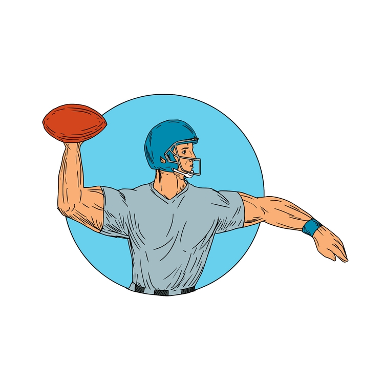 QB Motion Circle - Quarterback, Throwing - patrimonio | ello