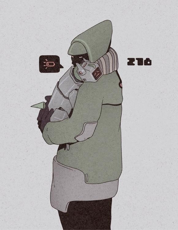 Day 278/365: Recharge - illustration - 1sles   ello