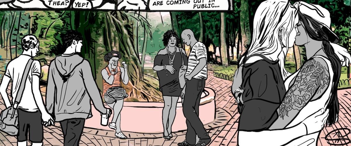Niki comic Lesbians online adva - artseverywhere | ello