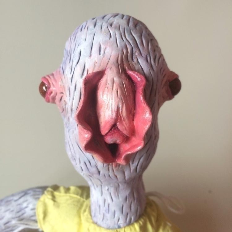 Hybridoll - doll, sculpture, sculpting - skeenep   ello