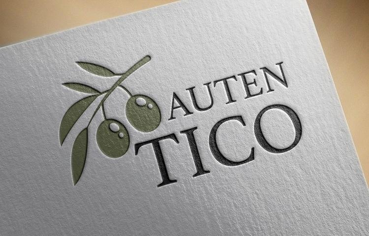 Autentico // logo design - branding - ranaatasatan | ello