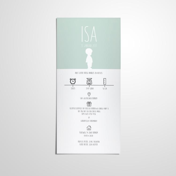 Birth Card // Design - design, branding - ranaatasatan   ello