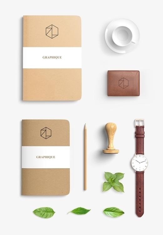 Office Supplies // Logo Design - ranaatasatan | ello