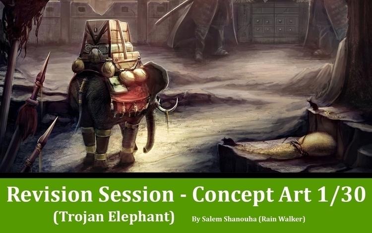 Trojan Elephant Story defeated  - rain_walker | ello