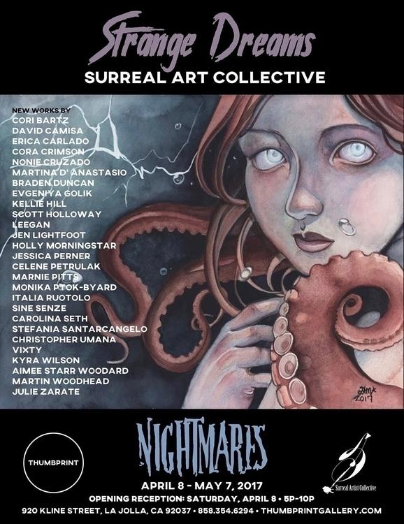 NIGHTMARES exhibition opens Sat - carolinaseth   ello