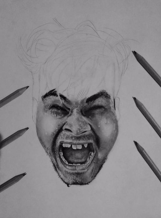 -Disturbia- Progress shot - ashutosht82   ello
